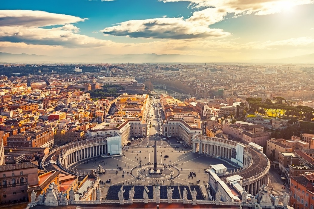 Plac św. Piotra- Rzym