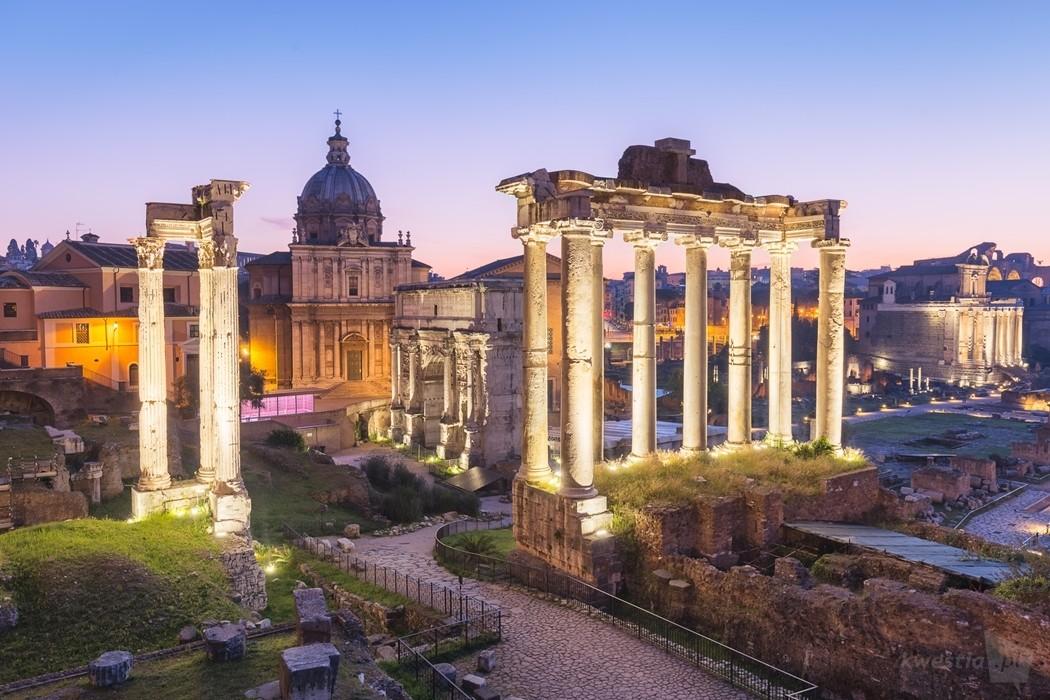 Forum Romanum- Rzym