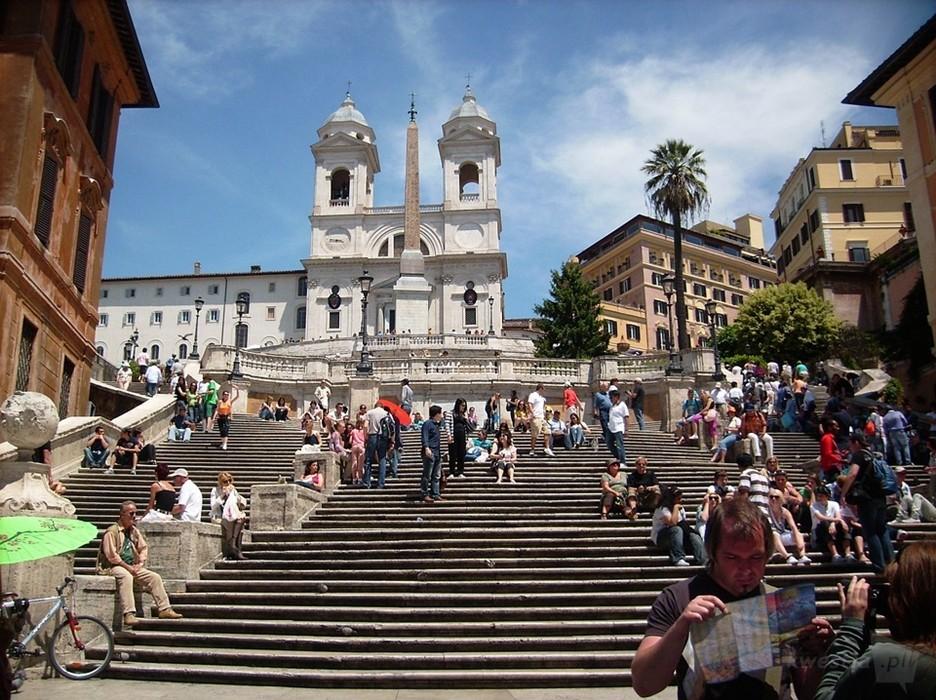 Schody Hiszpańskie Rzym