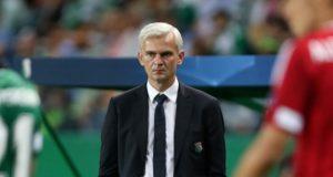 trener Legii Warszawa