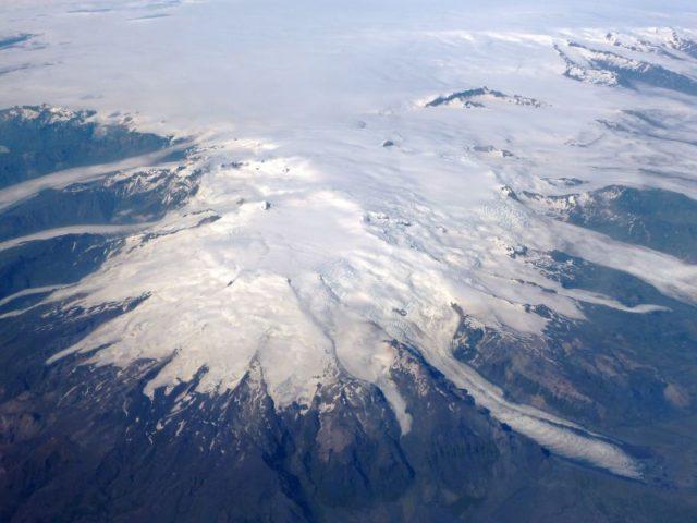 islandzki wulkan