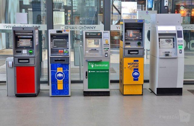 Likwidacja bankomatów