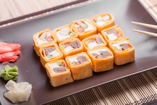 Sushitilla z tuńczykiem