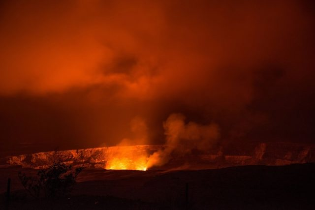 lawa dotarła do elektrowni geotermalnej