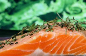 wysoka cena łososia